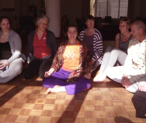 Yoga weekend Drenthe 2011