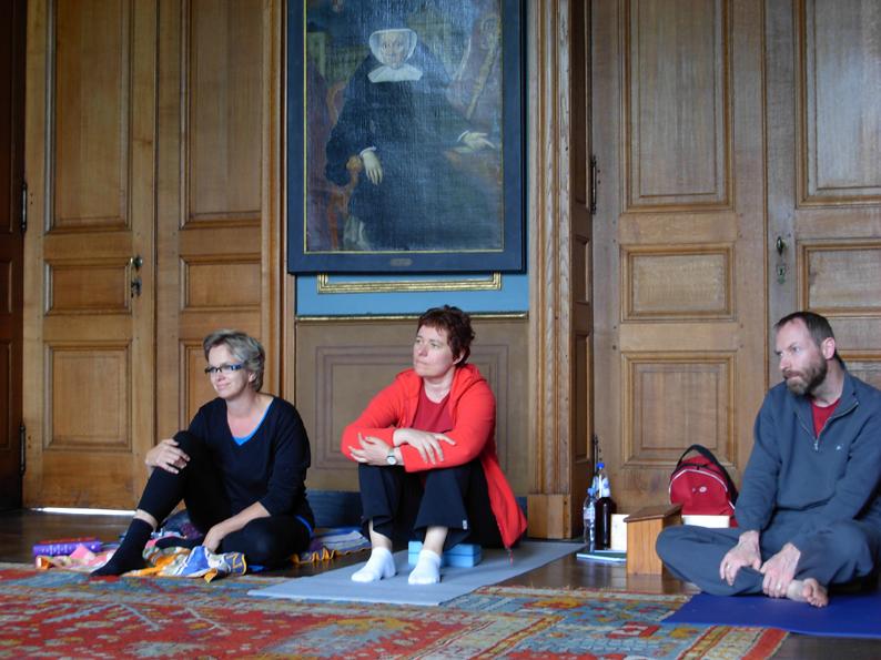 Yogaweekend Belgie 15_16_17 juli 2011_met Lydwina Meerman___