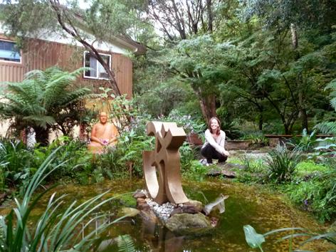 Lydwina Meerman _ Yoga Opleiding De Cobra Amsterdam _ Satyananda Yoga Ashram Mangrove Creek NSW Australia _ Mei 2011 _ 6