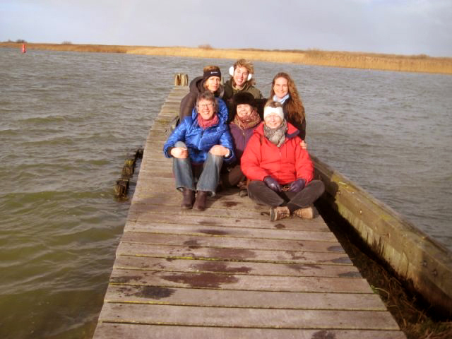 Yogaweekend Nederland_ 2012met Lydwina Meerman in Exmorra Friesland__