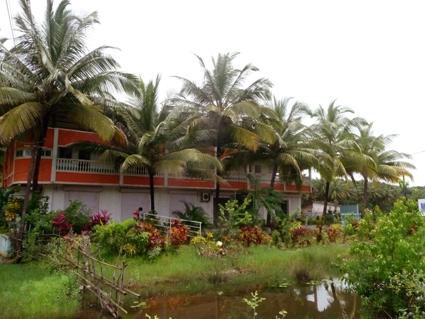 Matashree Ashram _ onderdeel van Shri Kali Ashram in Galgibaga in het zuiden van Goa