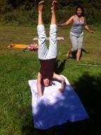Yoga in het Amsterdamse Bos _ met Lydwina Meerman _ 9 september 2012 _06