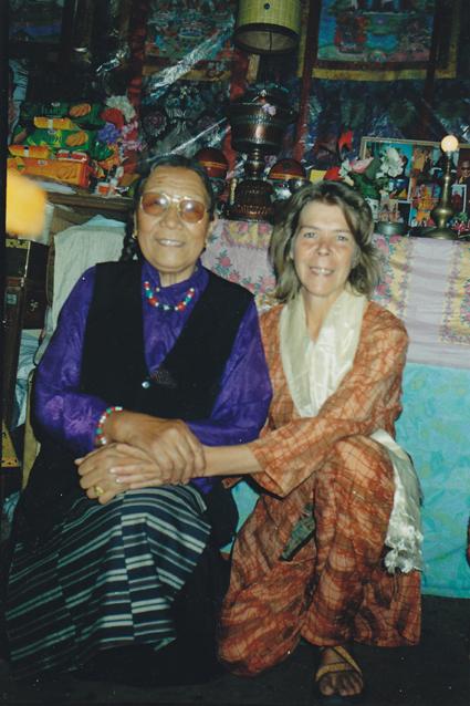 Lydwina Meerman _ India 2004 _ Dharamsala _ Mcleodganj _ Ama Adhe _