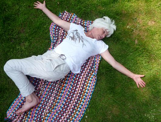 Yoga in het Westerpark Amsterdam 2 juli 2013 _ Lydwina Meerman Docente Hatha Yoga _ Claverhuis Amsterdam Jordaan_
