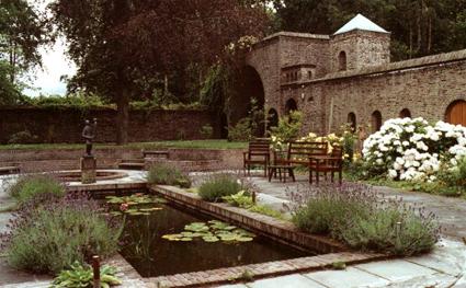 Binnentuin van het klooster