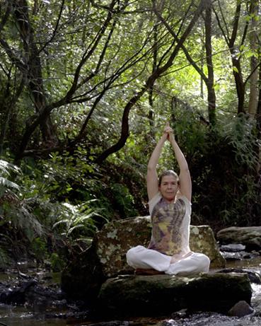 Parvatāsana, Kleermakerszit of Lotushouding met opgeheven armen en gevouwen handen. De handen worden met de handpalmen tegen elkaar gelegd; de vingers worden gevlochten en de wijsvingers staan rechtop. Dit alles versterkt de werking vanuit het staartbeencakra naar het krooncakra. Deze houding is een goede voorbereiding voor meditatie.
