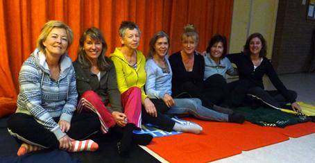 Yoga Amstelveen wijkcentrum Alleman met Lydwina Meerman_